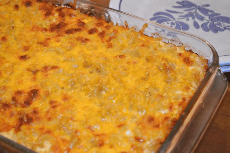grannie geek, john legend mac 'n cheese, casserole