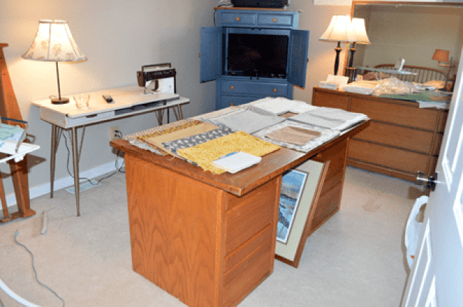 grannie geek sewing/craft room command central