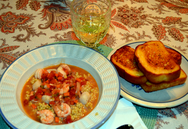 grannie geek shrimp & scallop stew lenten meals