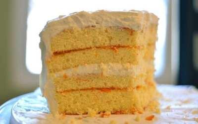 Refreshing Creamsicle Cake