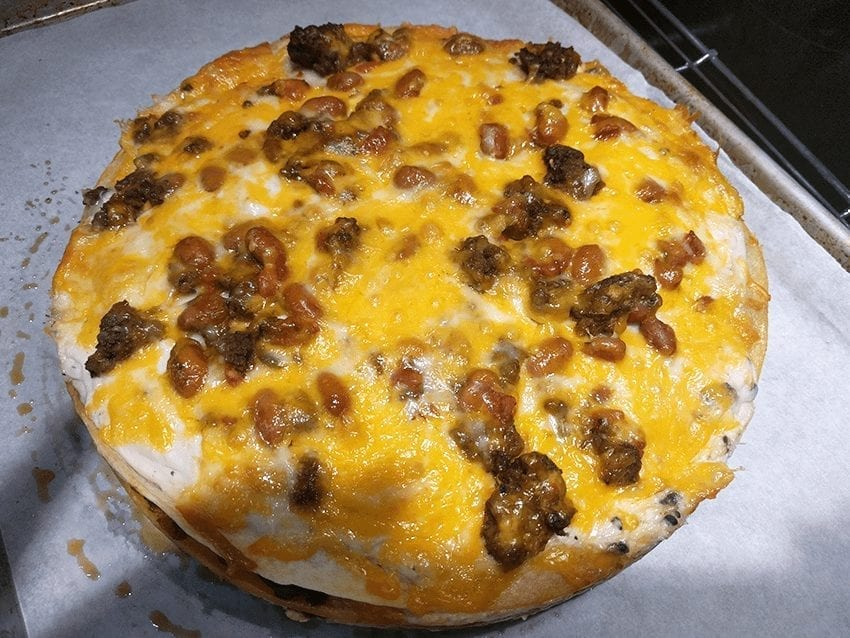 at mimi's table quick & easy burrito pie 3