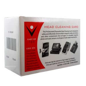 Card Reader Cleaner - Card Reader Cleaner Cards 50 ct.