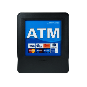 Topper Nautilus Blue - Blue ATM Topper for Hyosung 1800SE, 2700CE, Halo, Halo-S, Halo II, 5200SE