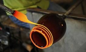 VENEZIA - Murano lavorazione del vetro