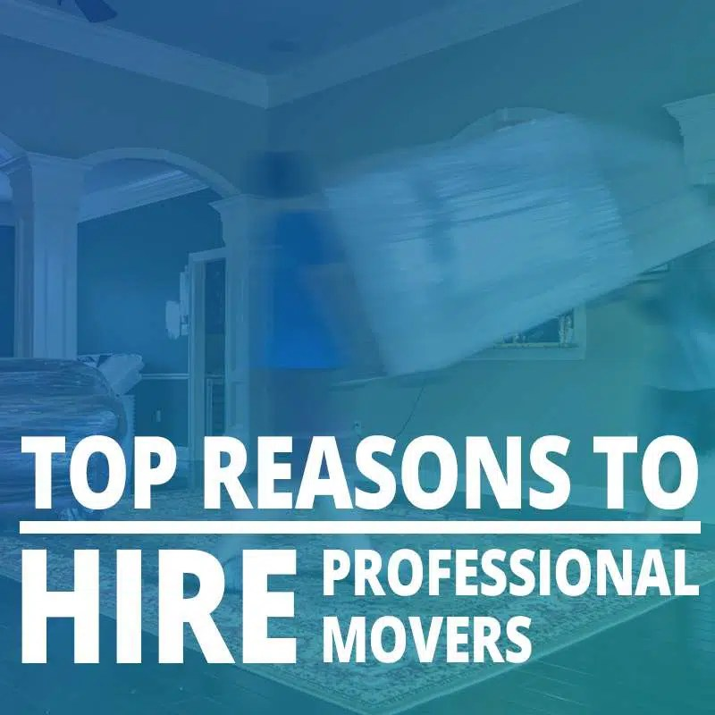Top Reasons To Hire Professional Movers