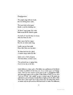 Both of these poems are hard to find online.
