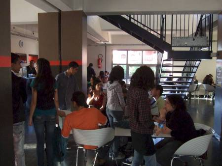 Hall Students