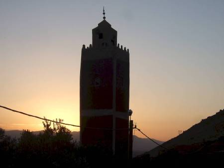 Moroccan village near Marrakech