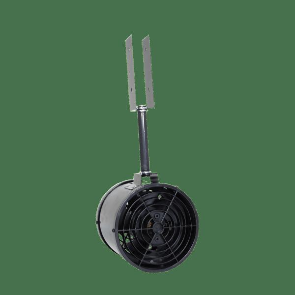 Attic ventilation joist mounted internal fan - 225 CFM