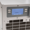 Aprilaire crawl space dehumidifier display panel showing external control.