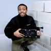 Photo installing ATMOX internal mount crawl space fans 145 CFM