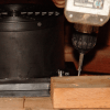 ATMOX Multi Mount Gables fan screw attachment on double plate