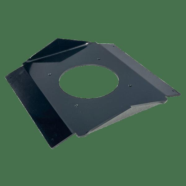ATMOX 4-12 Ridge Vent Exhaust Fan Mounting Plate for Attic