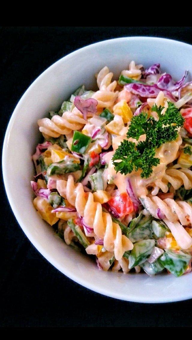 Creamy Pasta Salad / Cheesy Creamy Pasta Salad / Pasta Salad