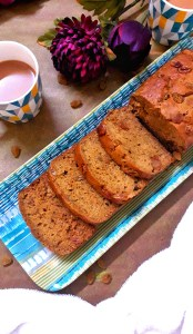 Banana Raisin Loaf Cake / Banana Raisin Cake / Whole Wheat Banana Raisin Cake