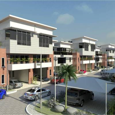 Residential Estate Development at Ikeja, G.R.A for Briscoe Properties Limited