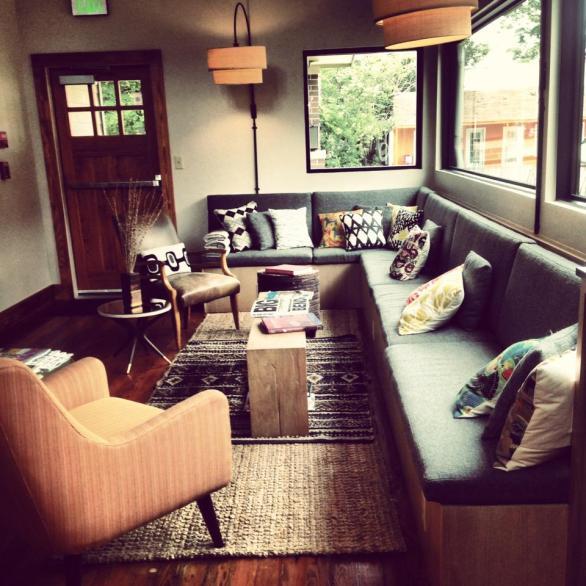 Lobby. Heywood Hotel. Photograph by Dawn Garcia