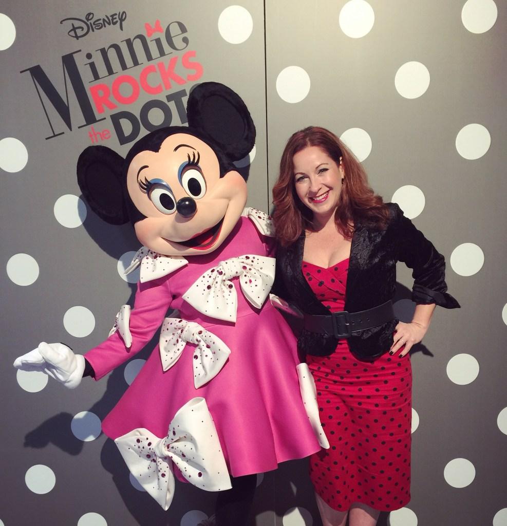Minnie Mouse Rocks Christian Soriano with Dawn Garcia