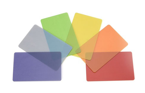100 Cartes translucides 0,76 mm
