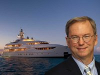 Google head Eric Schmidt's 200 ft long mega-yacht