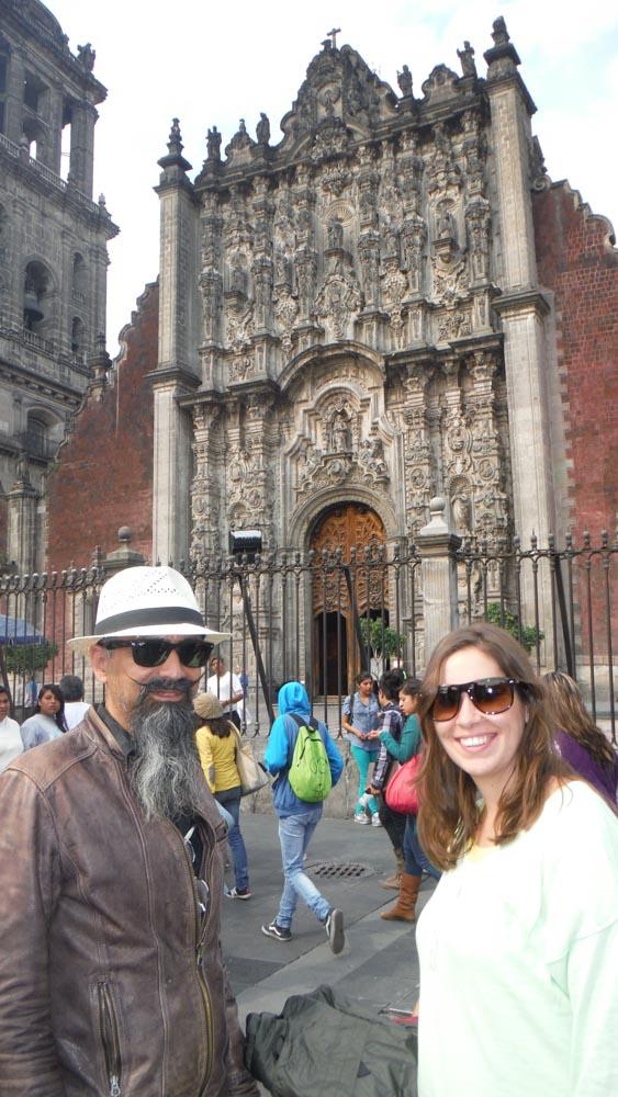 MJ con Eduardo en Mexico DF