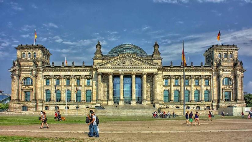 Reichstag en Berlin