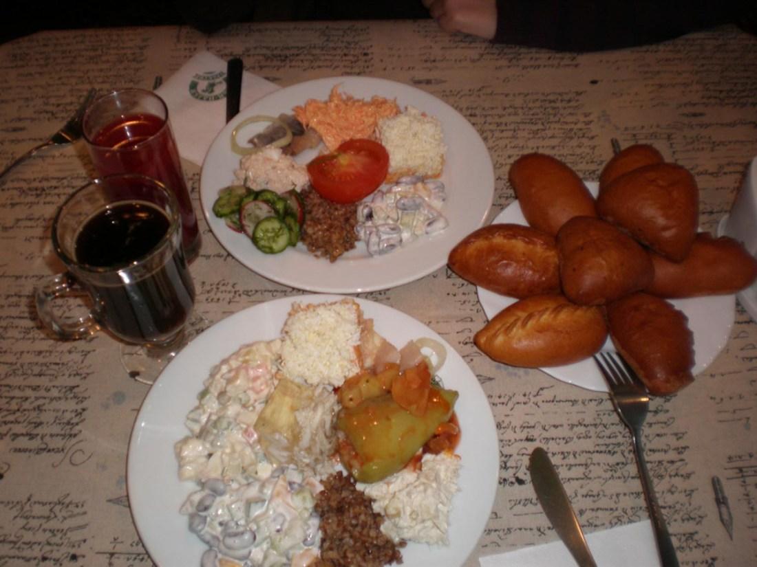 Comida tipica rusa