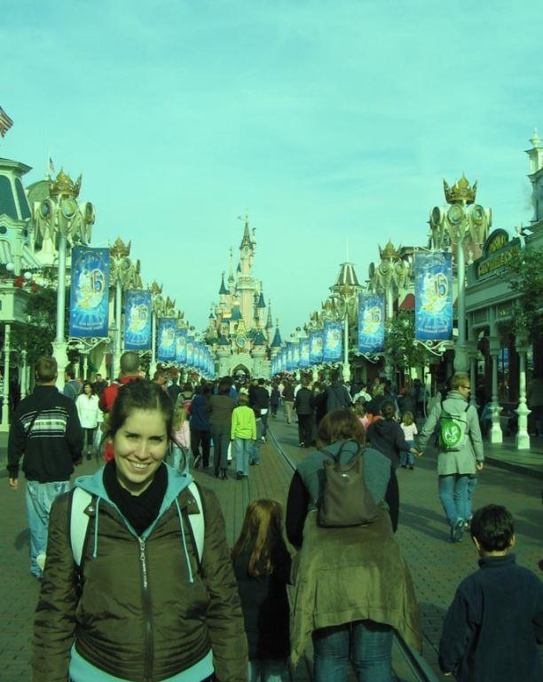 MJ, en otra visita a Disneyland Paris