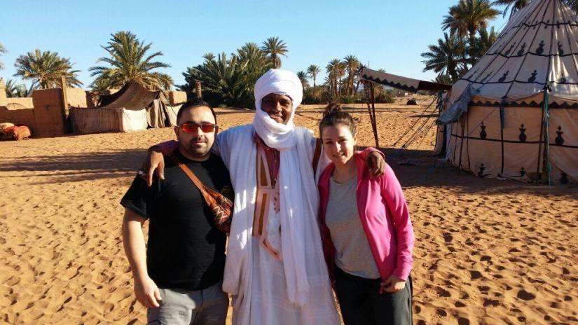 amigos en el Desierto