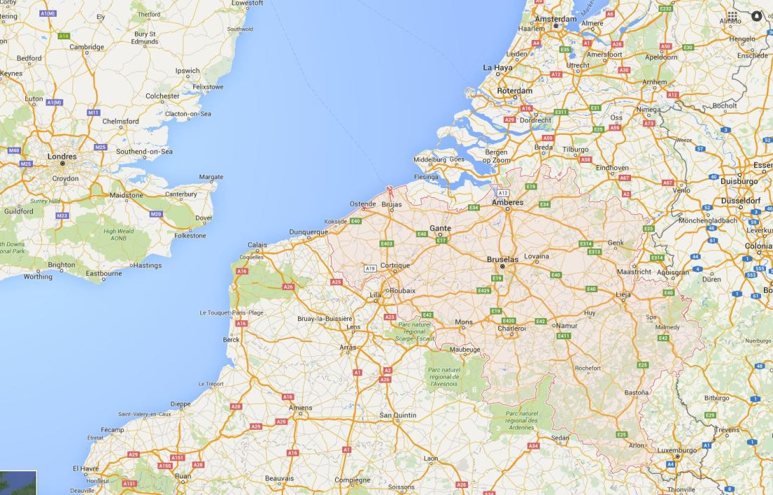 Información Bélgica