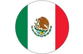 Bandera Mexico