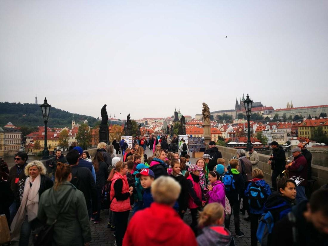 Praga, puente de San Carlos