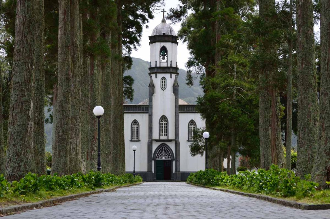 patrimonio - Church in Sete Cidades