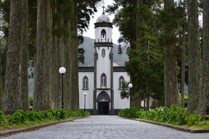 patrimonio - Church in Sete Cidades