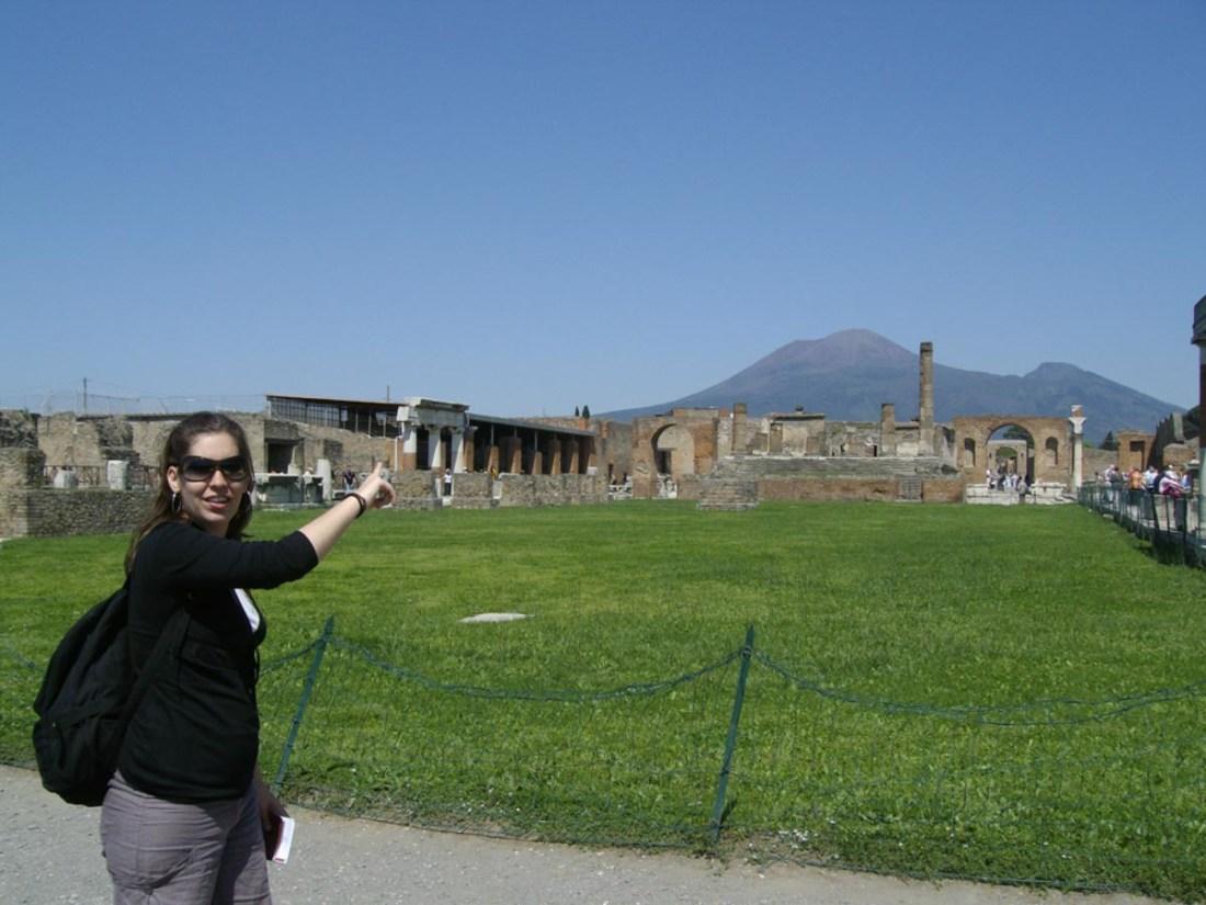 Pompeya y el volcan