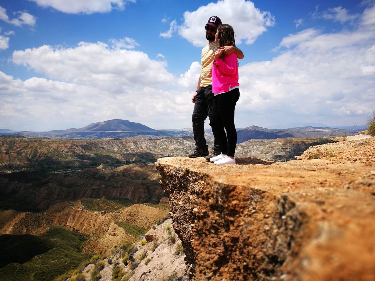 Lindas vistas al desierto de Gorafe