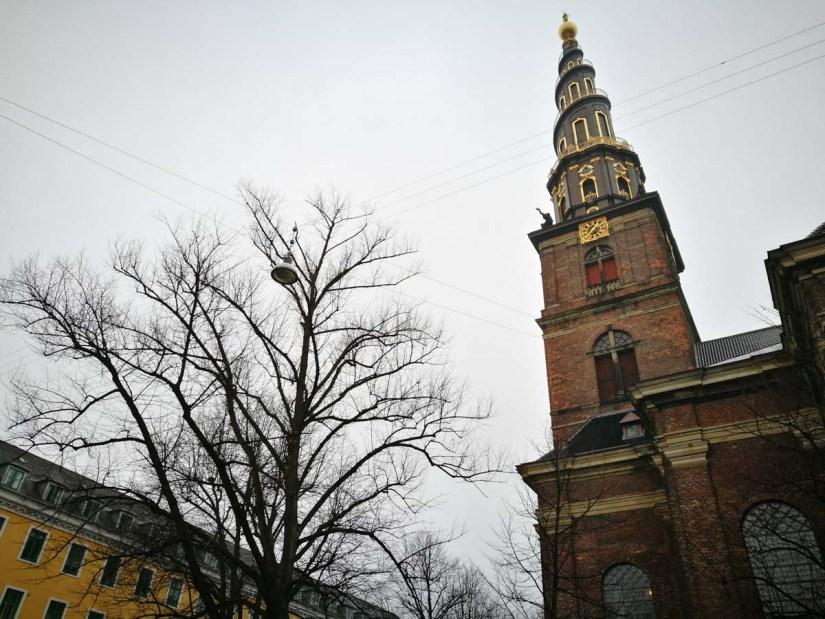 Torre iconica de Copenhague