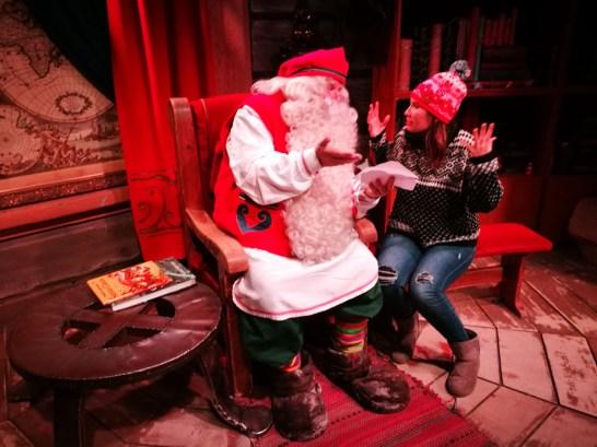 MJ con Santa