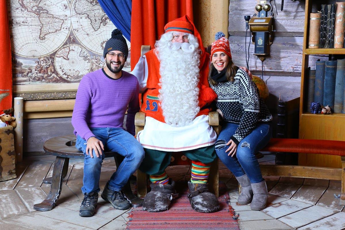 Nosotros y Santa Claus