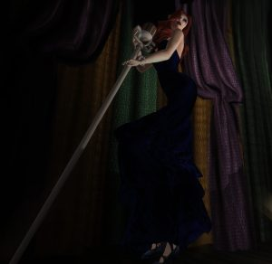 """BeloD Blue Gown"" by Miele Tarantal"