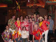 At Disneyland's Tiki Room 40th Birthday