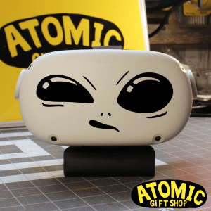 Confused Alien Decal