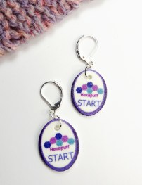 Start Instructional Stitch Markers