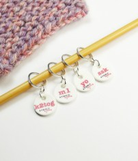 New Instructional Stitch Markers