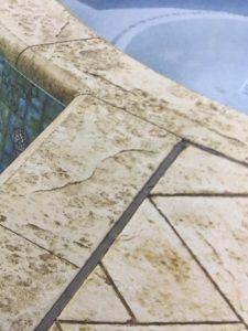 Stamped Concrete boder