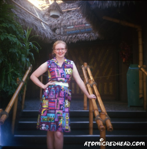 In Front of Tiki Room