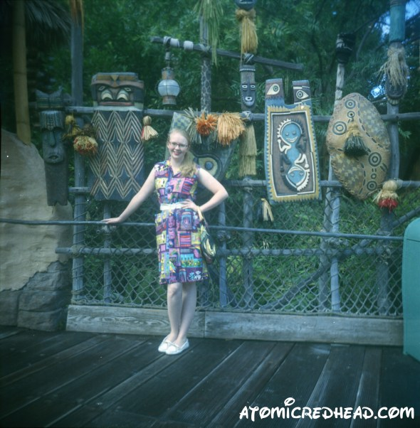 Tiki Dress in Adventure Land 2