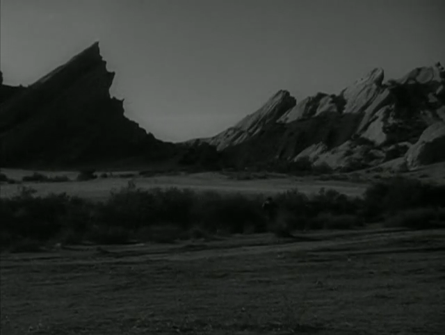 "Vasquez Rocks in The Wild Wild West episode ""The Night of the Sudden Plague."""
