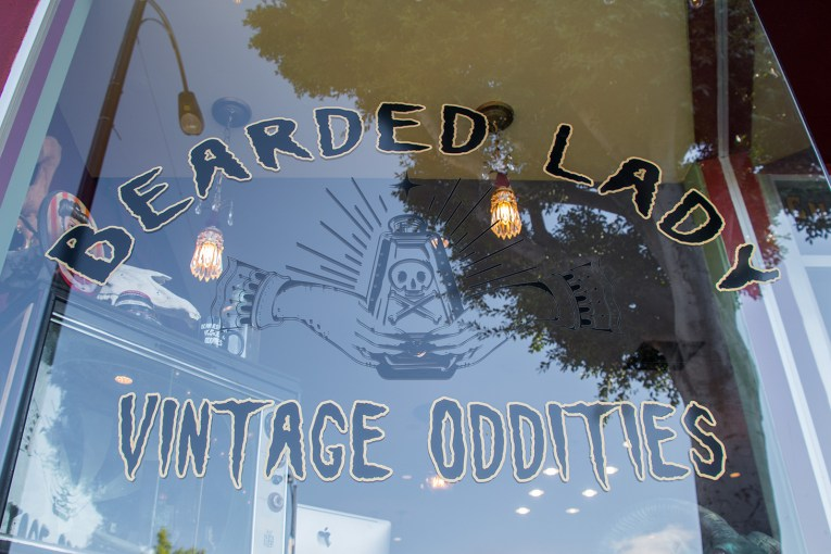 Bearded Lady Vintage Oddities