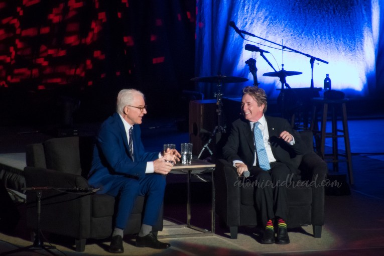 Steve Martin and Martin Short sit and discuss their careers.